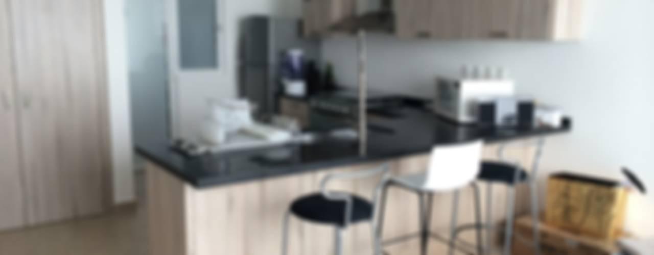 Modern style kitchen by SANTIAGO PARDO ARQUITECTO Modern