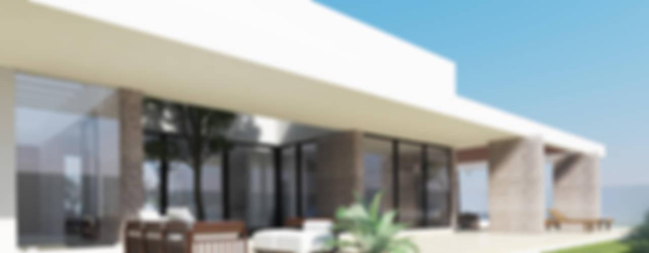 CASA FUNDADORES | Playa del Carmen Q. Roo: Jardines de estilo  por EMERGENTE | Arquitectura