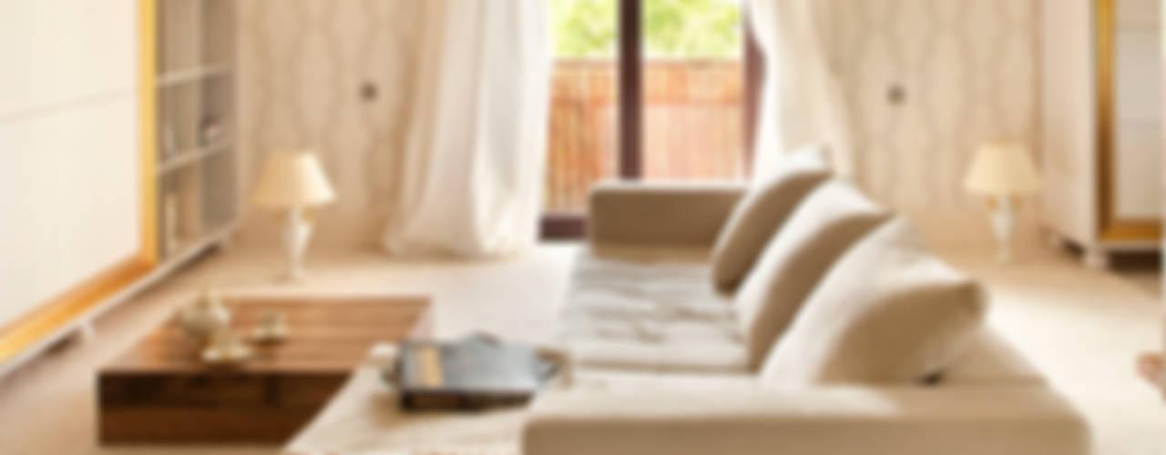 Living room by Jeżewska & Zakrawacz
