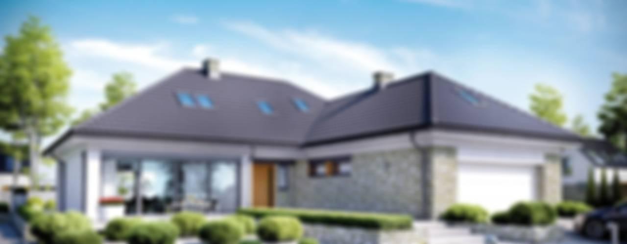 Pracownia Projektowa ARCHIPELAG Moderne Häuser