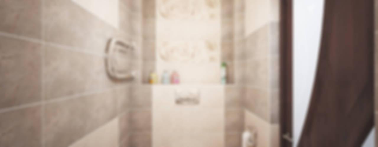 Дизайн проект дома - 2 этаж - 106,9 м2 Ванная комната в эклектичном стиле от Artstyle Эклектичный
