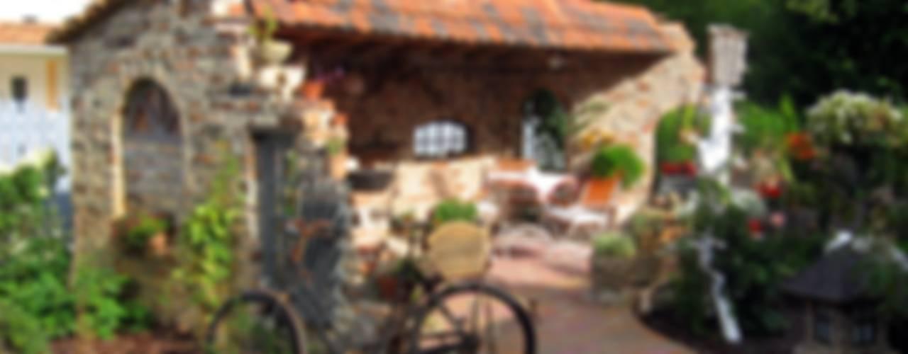 Jardines de estilo clásico de Antik-Stein Clásico