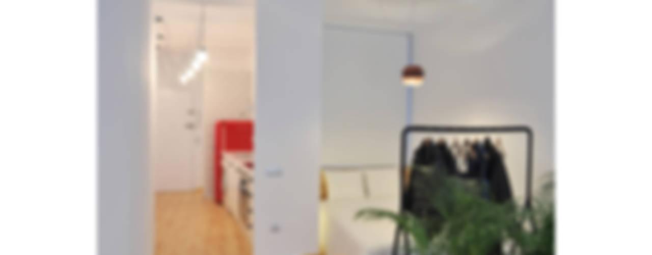 Nowoczesna sypialnia od SUIN design studio Nowoczesny