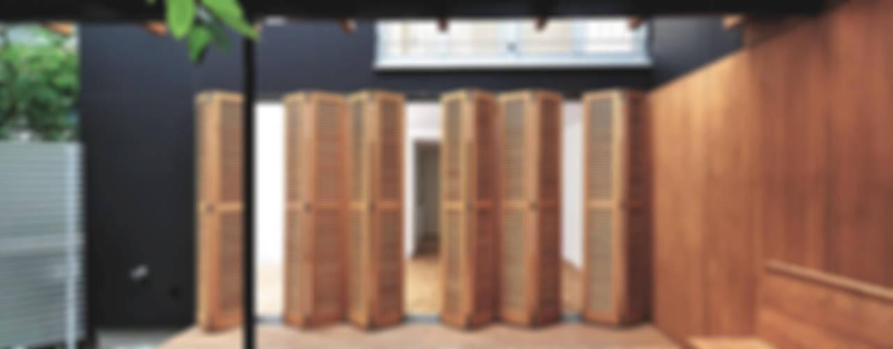 KHM Fürst & Niedermaier, Architekten Moderner Balkon, Veranda & Terrasse Holz
