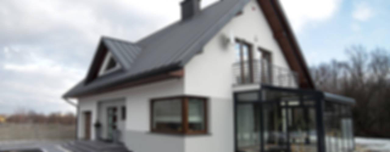 Maisons de style  par Biuro Projektów MTM Styl - domywstylu.pl, Moderne