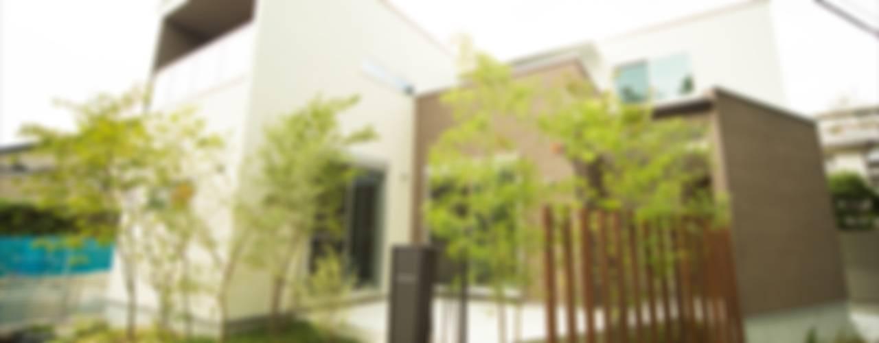 Modern Houses by ナイトウタカシ建築設計事務所 Modern