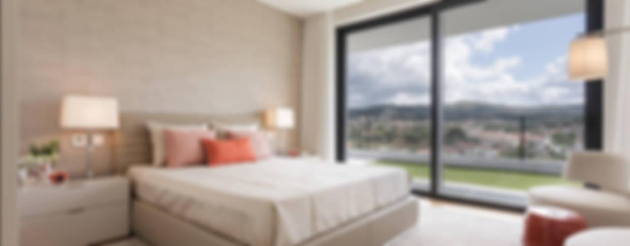 Dormitorios modernos de CASA MARQUES INTERIORES Moderno