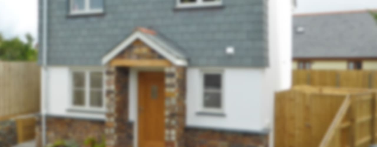 Church Mews, Hartland, Devon Modern houses by The Bazeley Partnership Modern