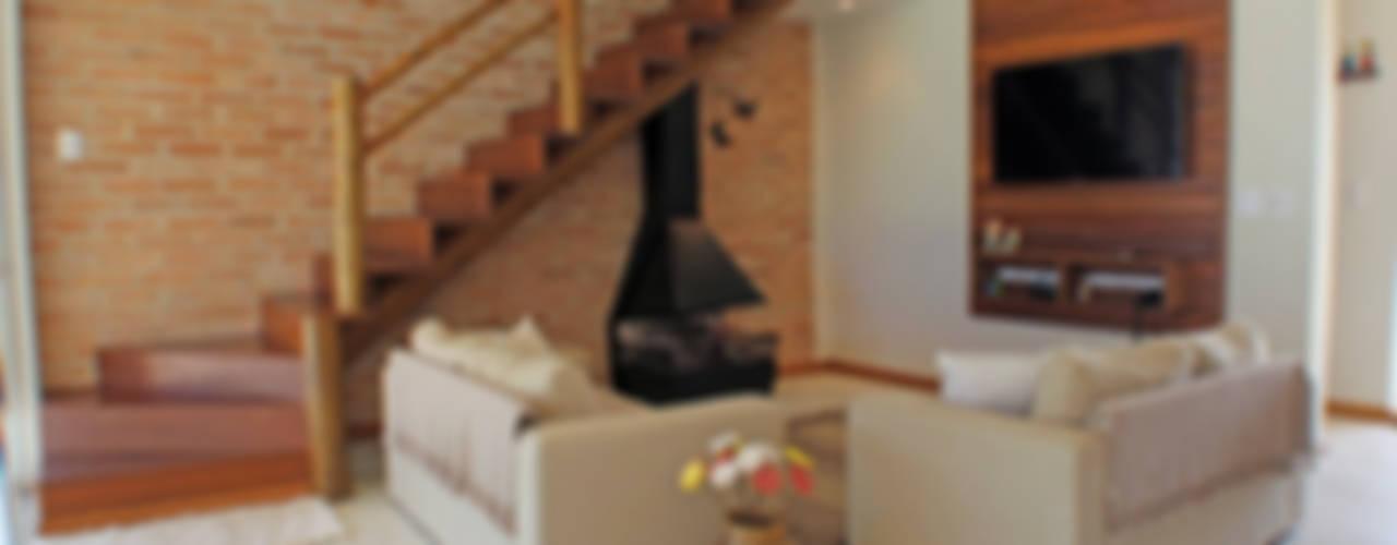 غرفة المعيشة تنفيذ RAC ARQUITETURA , ريفي