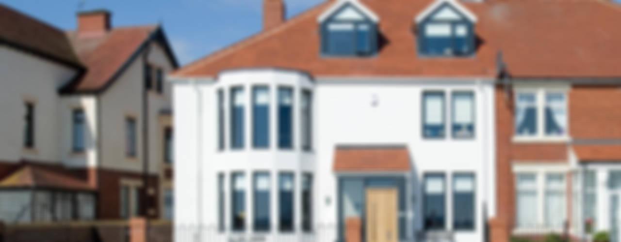 The Links, Whitley Bay Nowoczesne domy od xsite architecture LLP Nowoczesny