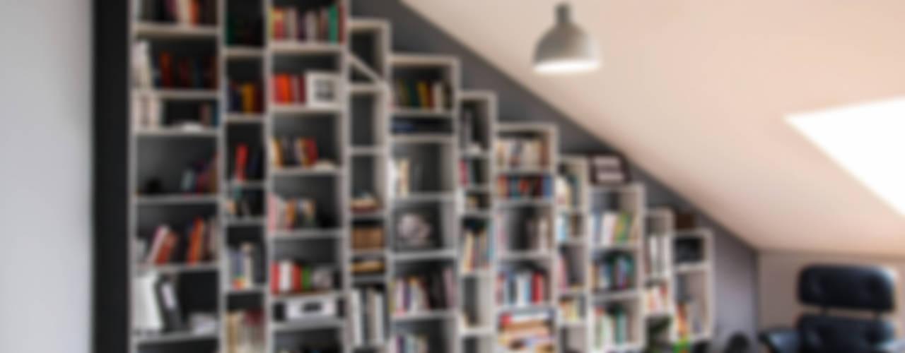 Minimalistische Arbeitszimmer von AS-MEB Minimalistisch
