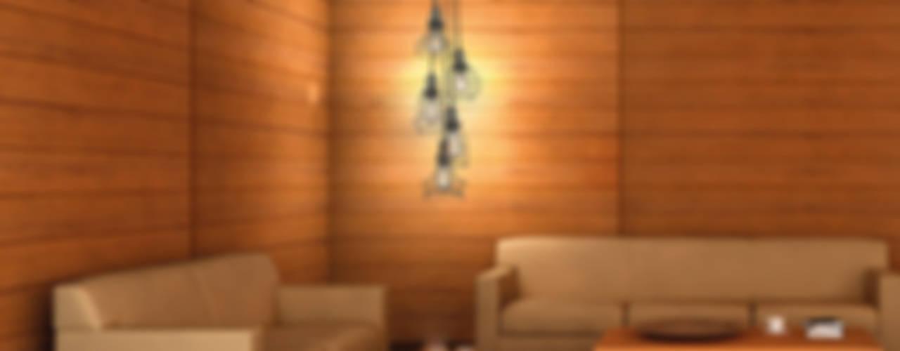 Livings de estilo  por Class Iluminación