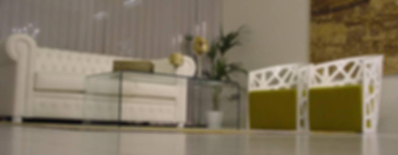 Nowoczesny salon od EPG-Arquitécnico Nowoczesny