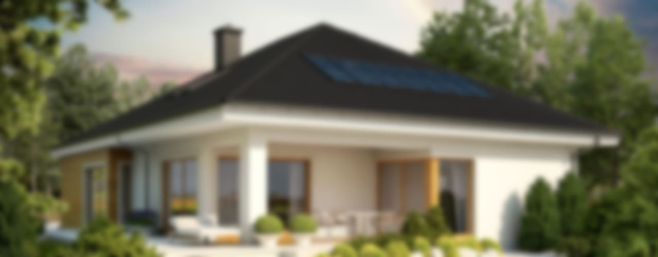 Casas de estilo moderno de Pracownia Projektowa ARCHIPELAG Moderno