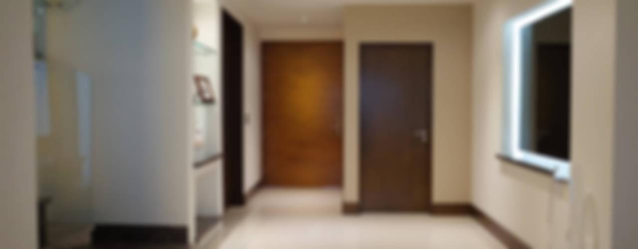 Ingresso, Corridoio & Scale in stile moderno di fc3arquitectura Moderno