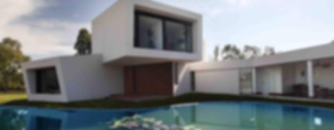 Casa Orquidea Piletas modernas: Ideas, imágenes y decoración de Remy Arquitectos Moderno