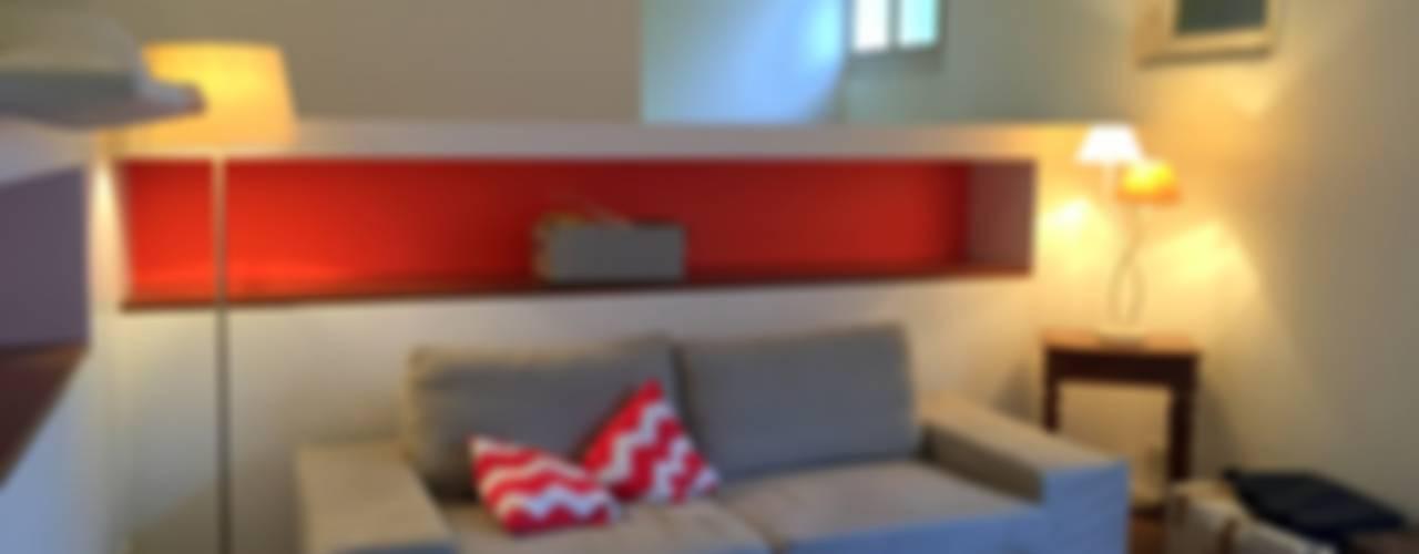 Salas / recibidores de estilo  por 3B Architecture,
