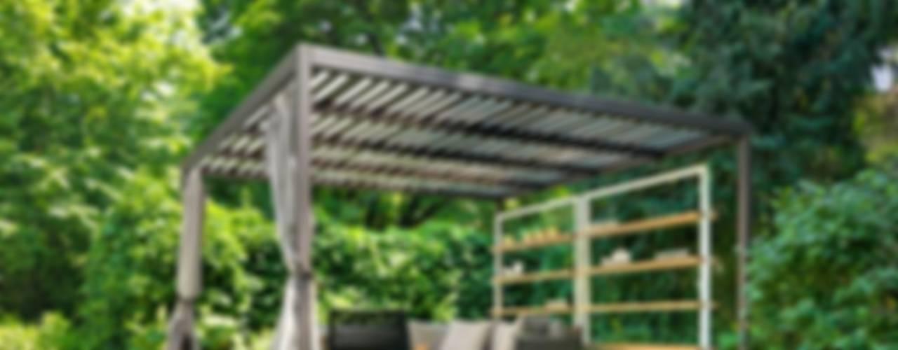 Balcon, Veranda & Terrasse minimalistes par Cagis Minimaliste