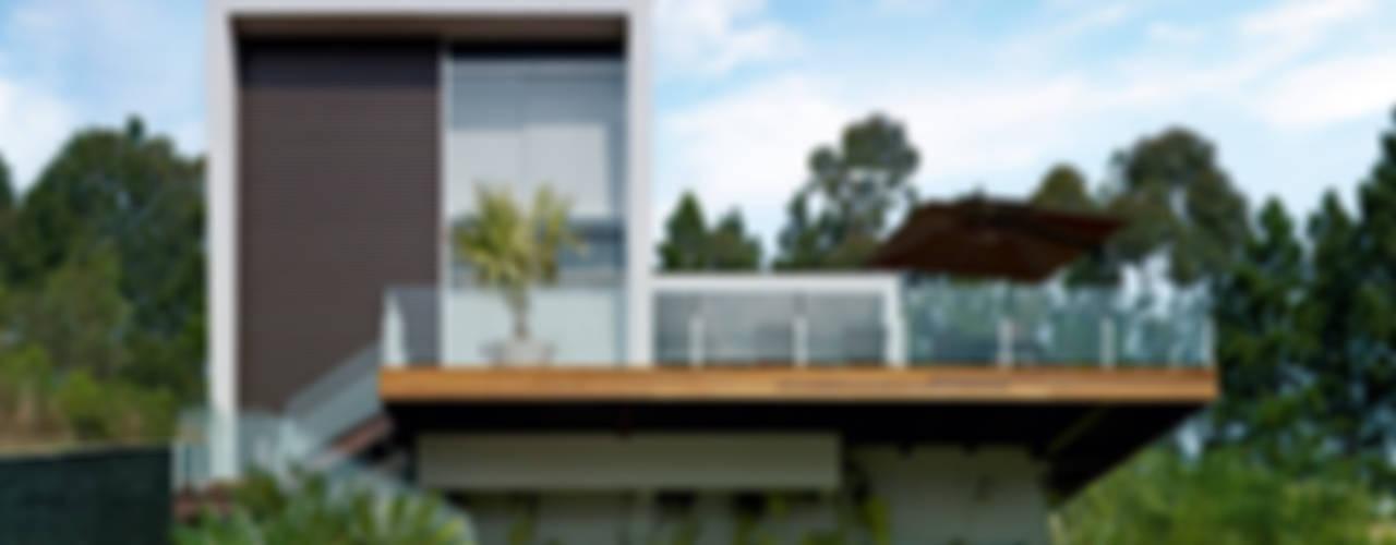 منازل تنفيذ Márcia Carvalhaes Arquitetura LTDA., حداثي