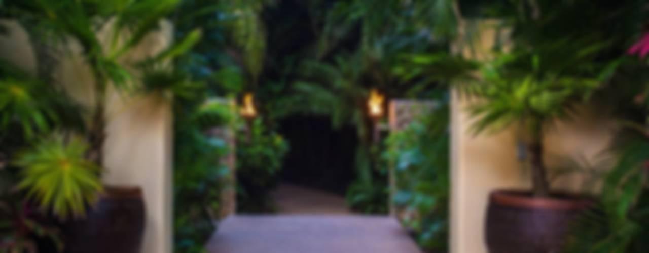 Casa Aramara Jardines tropicales de BR ARQUITECTOS Tropical