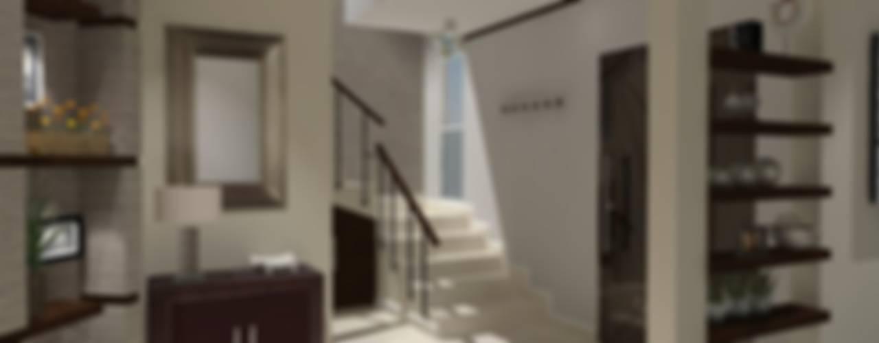 الممر والمدخل تنفيذ AurEa 34 -Arquitectura tu Espacio-