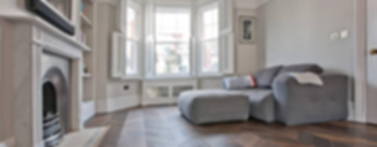 Richmond Full House Refurbishment Soggiorno minimalista di A1 Lofts and Extensions Minimalista