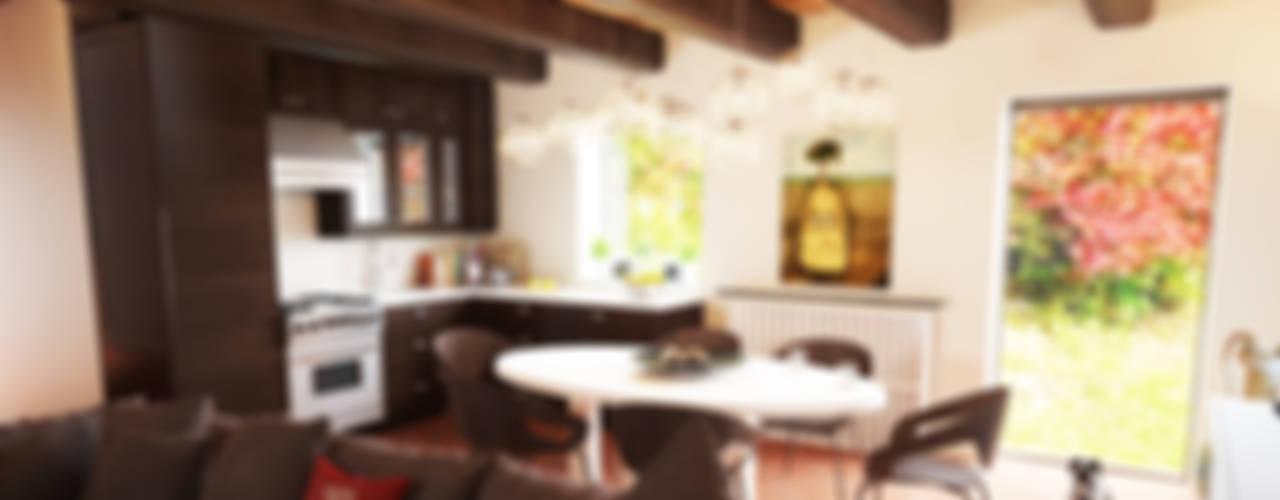 RISTRUTTURAZIONE TAVERNELLE Sala da pranzo moderna di Studio Bennardi - Architettura & Design Moderno