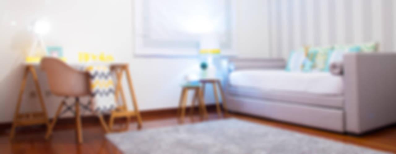 غرفة نوم تنفيذ Ângela Pinheiro Home Design