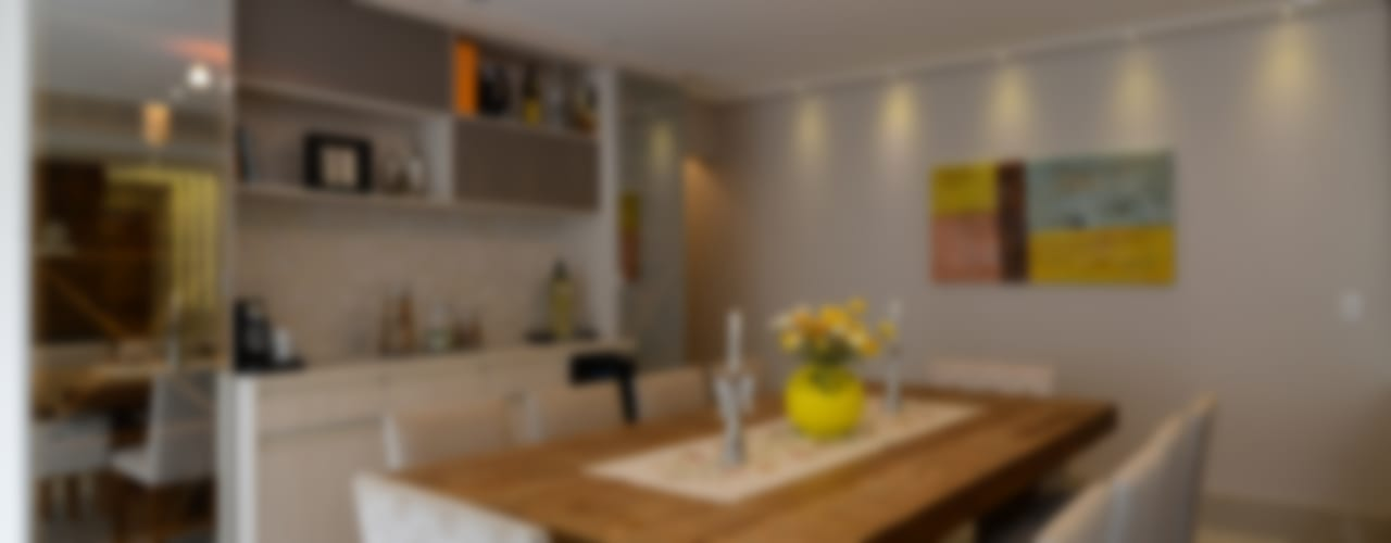 غرفة السفرة تنفيذ LAM Arquitetura | Interiores