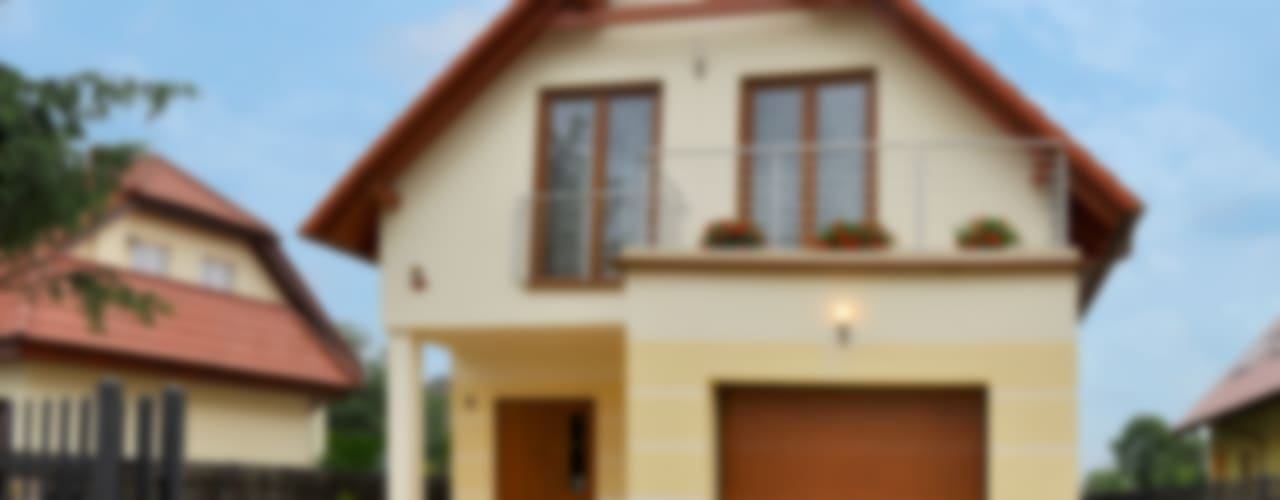 Дома в . Автор – Biuro Projektów MTM Styl - domywstylu.pl, Классический
