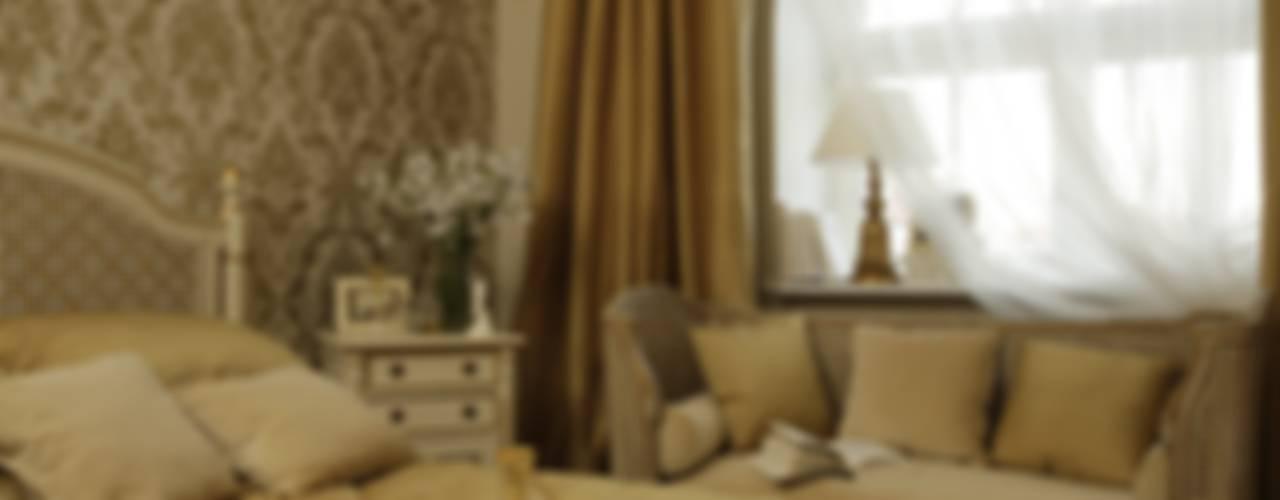 Русская усадьба Спальня в классическом стиле от СТУДИЯ ЮЛИИ НЕСТЕРОВОЙ Классический