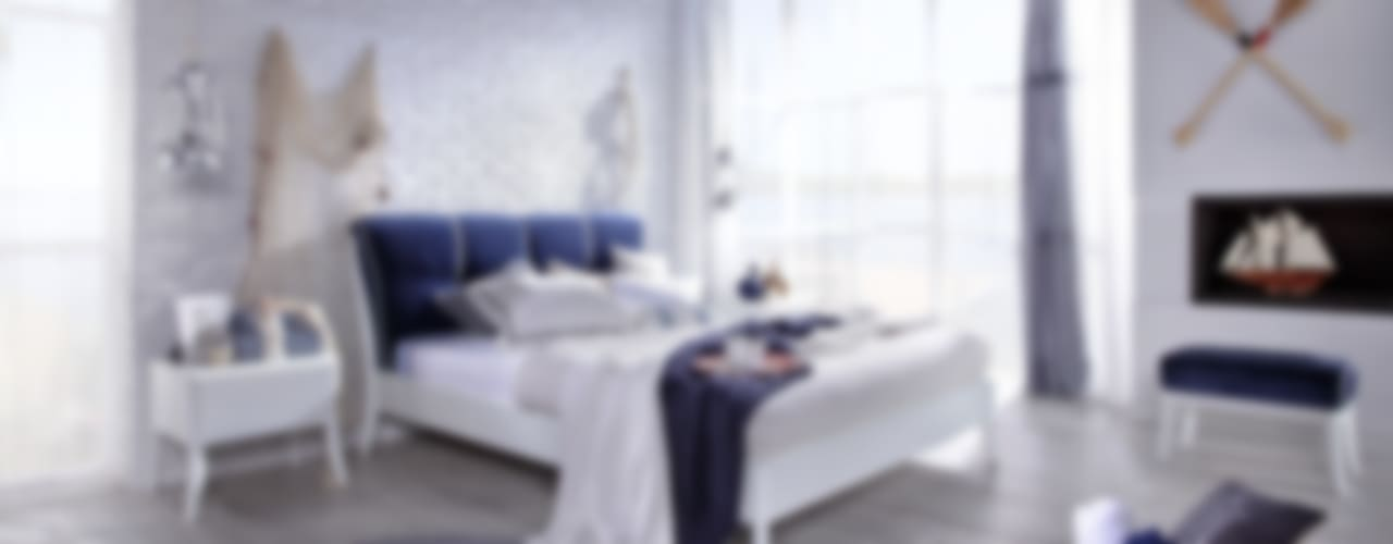 Dream white w marynarskim stylu od Swarzędz Home Śródziemnomorski