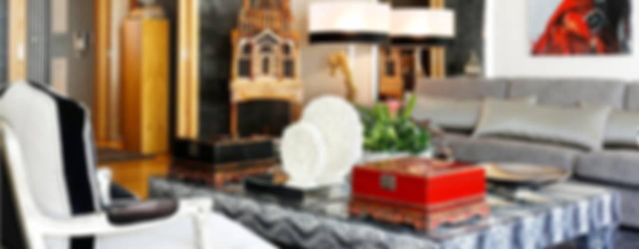 غرفة المعيشة تنفيذ 3L, Arquitectura e Remodelação de Interiores, Lda,