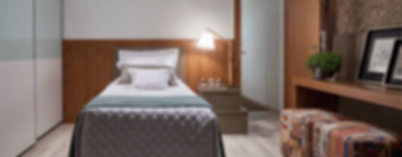 Dormitorios de estilo moderno de Isabela Canaan Arquitetos e Associados Moderno