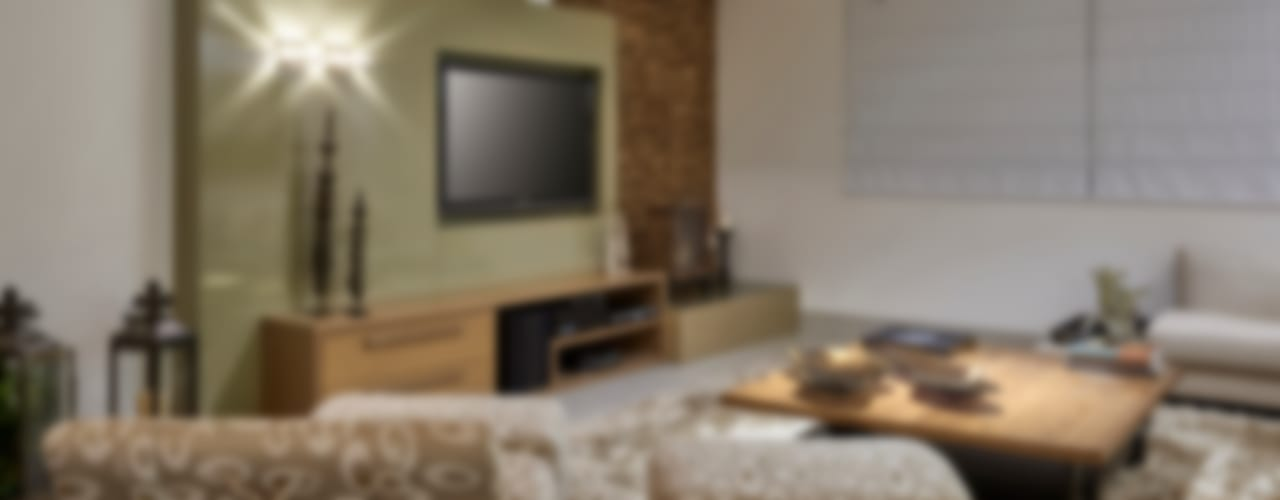 Salones modernos de Isabela Canaan Arquitetos e Associados Moderno