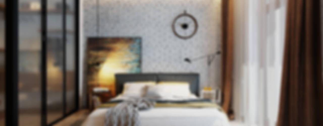 Industrial style bedroom by Solo Design Studio Industrial