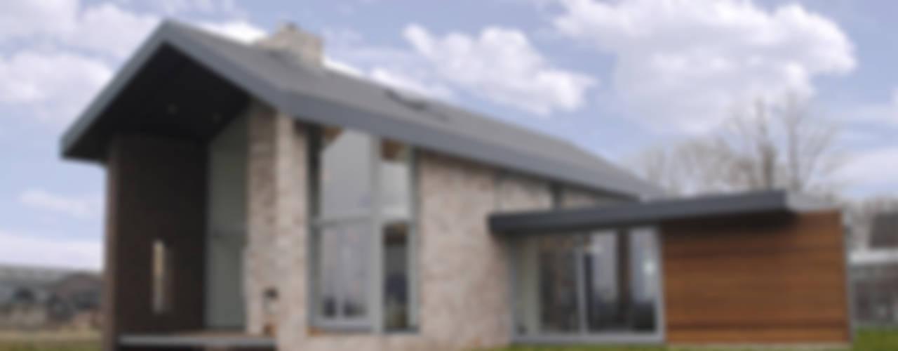 Bedrijfswoning in Oss:  Huizen door De Witte - Van der Heijden Architecten, Modern