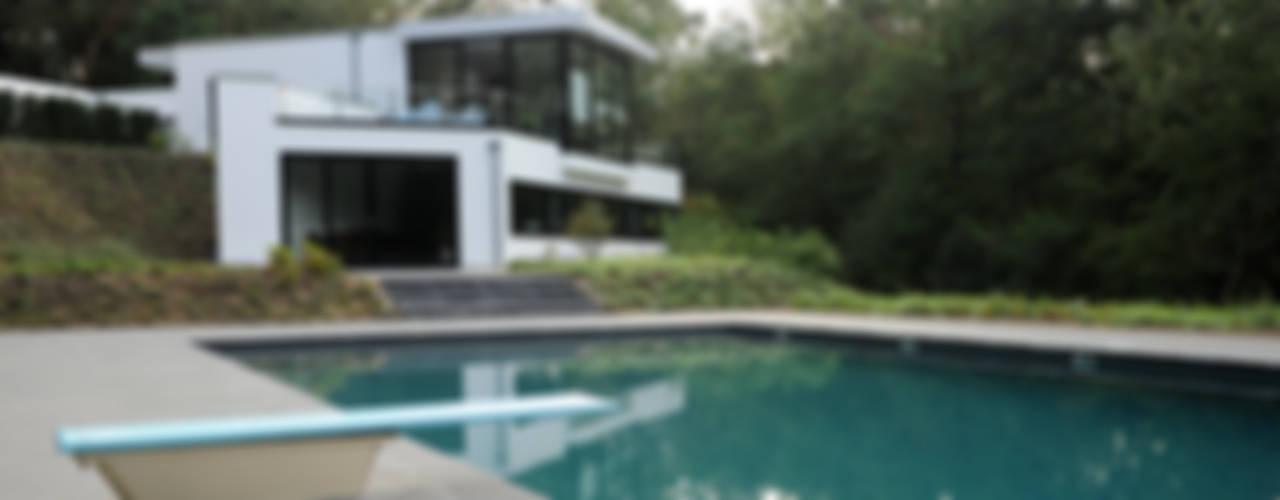 Villa te Doorwerth Moderne huizen van Strategie Architecten bna Modern