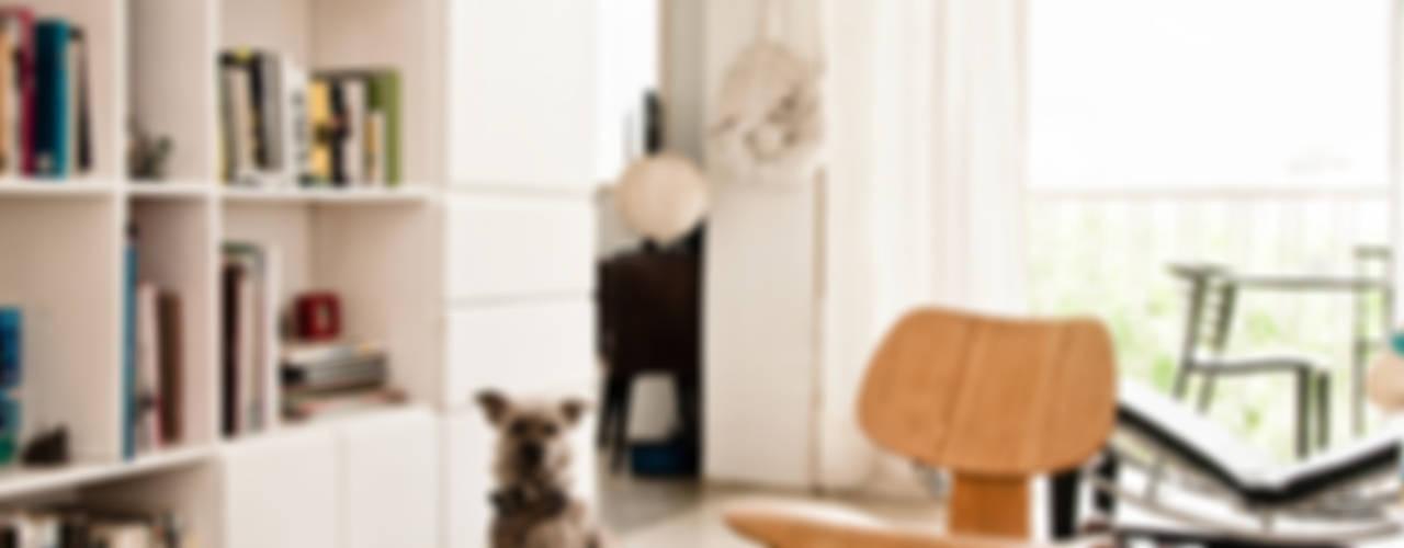 Apartamento en Las Acacias Salas de estilo moderno de PUNCH TAD Moderno