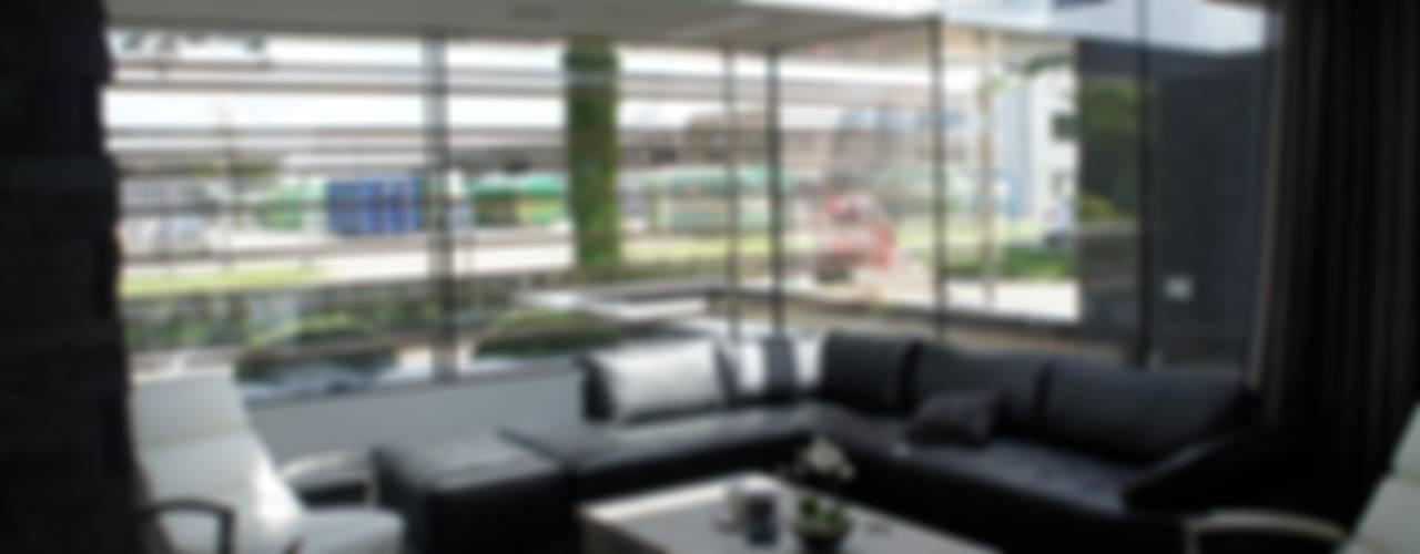 verbouwing Zelhem Moderne woonkamers van loko architecten Modern