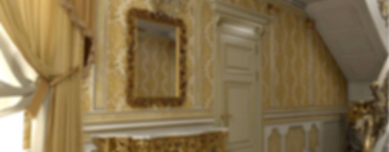 Corredores, halls e escadas clássicos por Ad-home Clássico