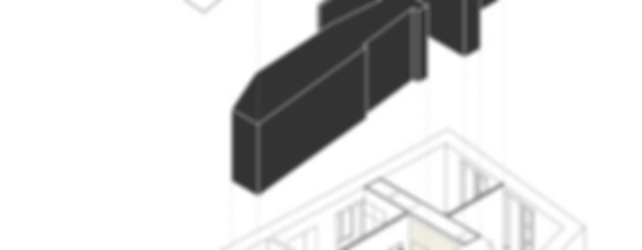 APARTMENT QUEBRA-COSTAS Paredes e pisos minimalistas por COLECTIVO arquitectos Minimalista