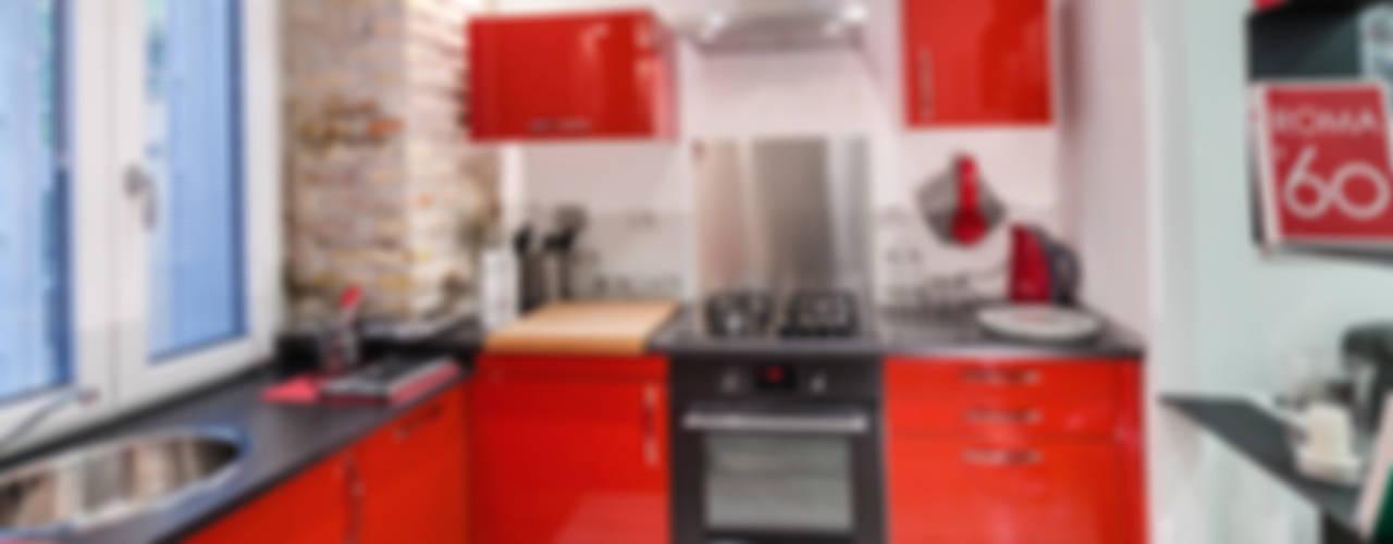 Cocinas de estilo  por architetto raffaele caruso , Moderno