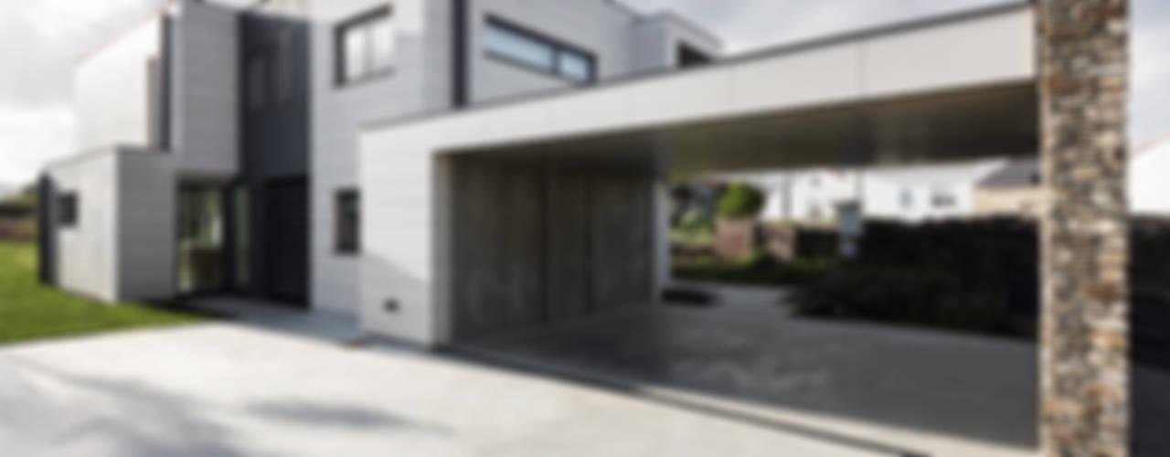 AD+ arquitectura의  일세대용 주택, 모던