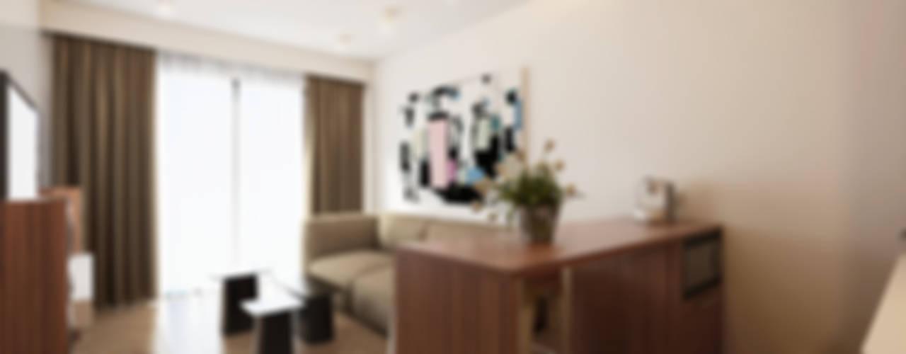 Mini T1 Salas de estar minimalistas por José Tiago Rosa Minimalista
