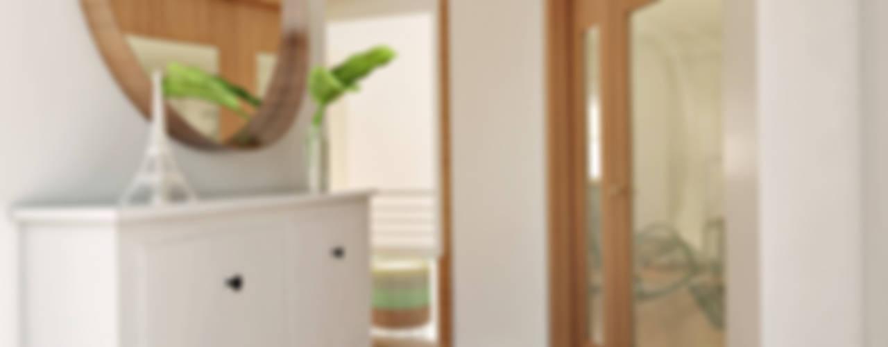 Apartamento Ikea: Corredores e halls de entrada  por José Tiago Rosa
