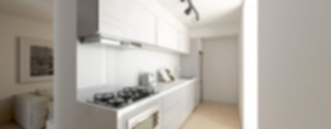 Mini T1 Cozinhas minimalistas por José Tiago Rosa Minimalista