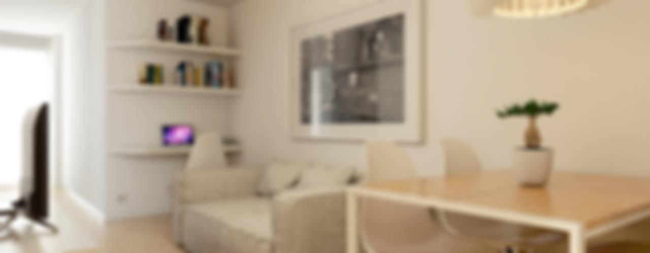 Minimalistische Wohnzimmer von José Tiago Rosa Minimalistisch