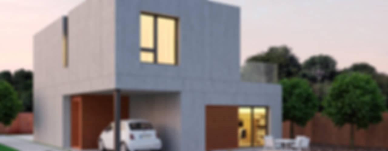 MÓDULOS QUE SE CONVIERTEN EN HOGARES de NUÑO ARQUITECTURA Moderno