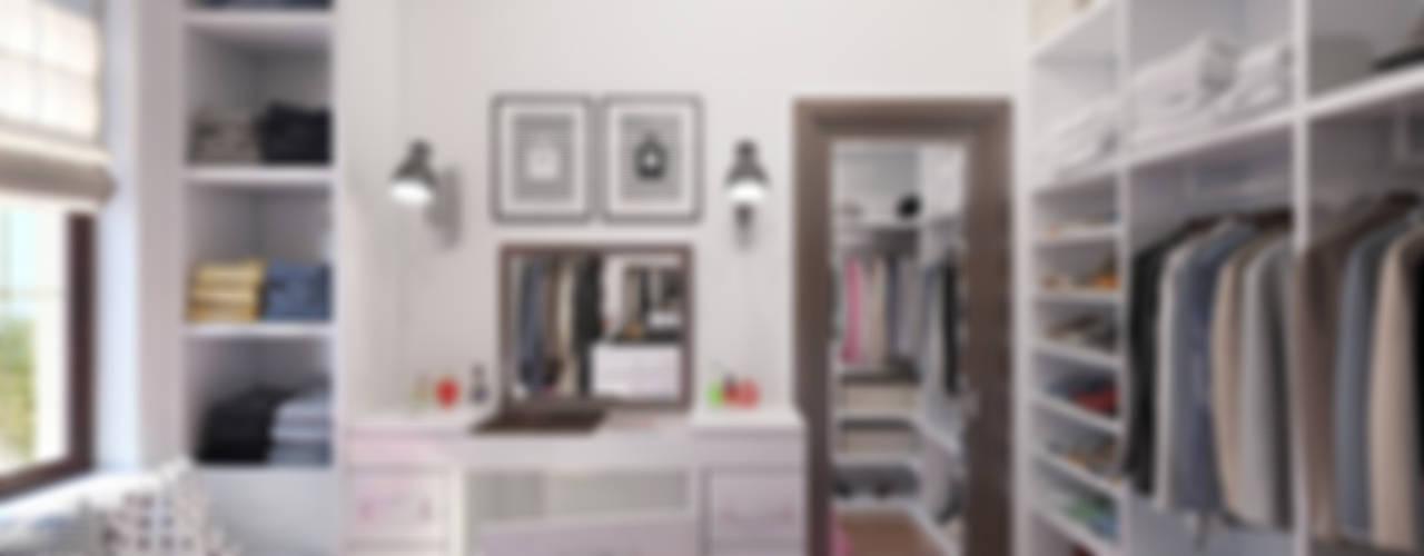 Vestidores de estilo minimalista de Giovani Design Studio Minimalista